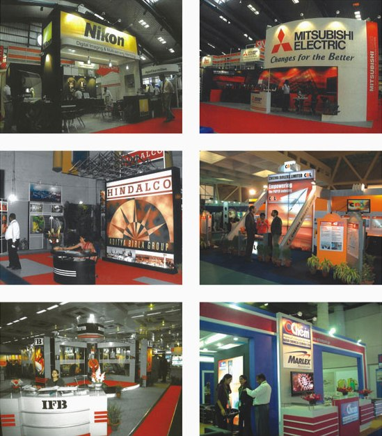 Creative Exhibition Stall Design : Best exhibition stall design development company india new